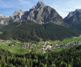 Panorama of Sappada